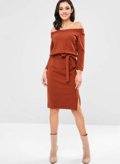 This is one of the cute Thanksgiving outfits that you should try this holiday season! #thanksgivingoutfits #cutethanksgivingoutfits #thanksgivinglooks #thanksgivingfashion #thanksgivingstyle #thanksgivingoutfitsforwomen #thanksgivingensemble #thanksgivingclothing
